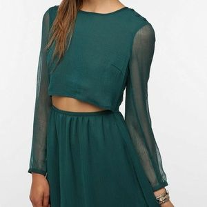 Urban Outfitters Pins & Needles Cutout Dress S